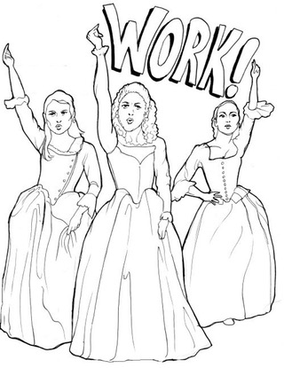 Hamilton coloring #7, Download drawings
