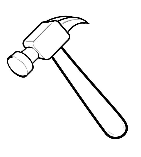 Hammer coloring #19, Download drawings