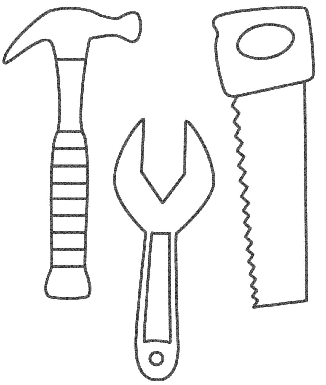 Hammer coloring #14, Download drawings