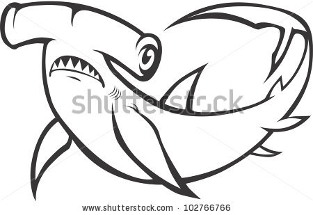 Hammerhead Shark clipart #5, Download drawings
