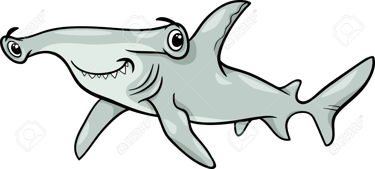 Hammerhead Shark clipart #3, Download drawings