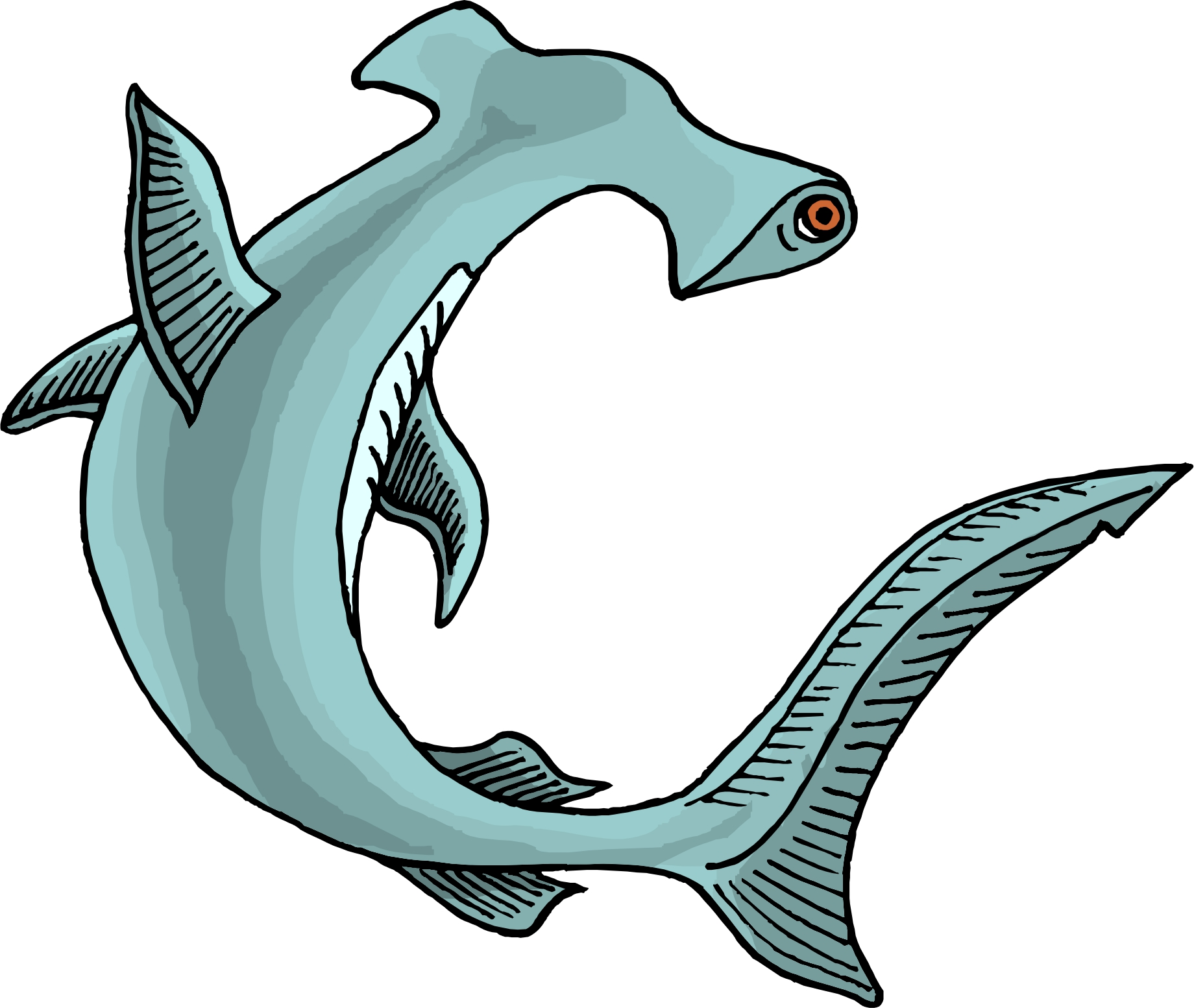 Hammerhead Shark clipart #9, Download drawings