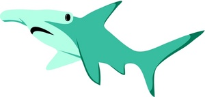 Hammerhead Shark clipart #12, Download drawings