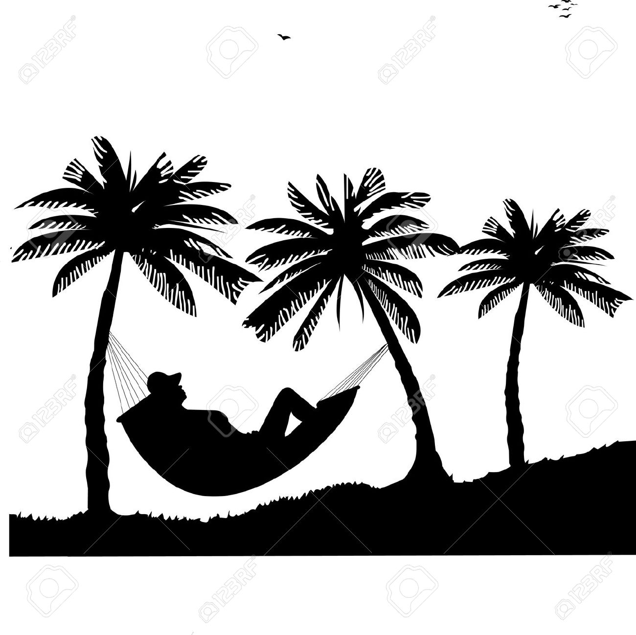 Hammock clipart #2, Download drawings