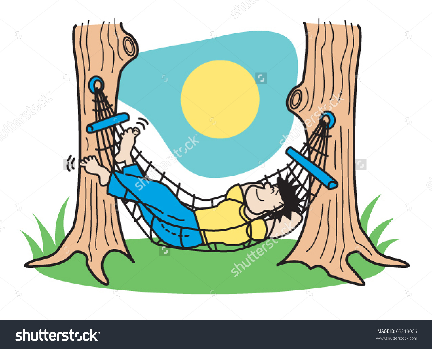 Hammock clipart #5, Download drawings