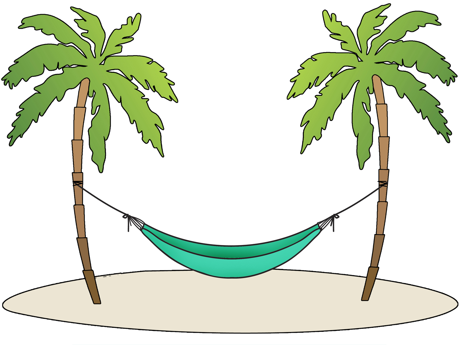 Hammock clipart #14, Download drawings