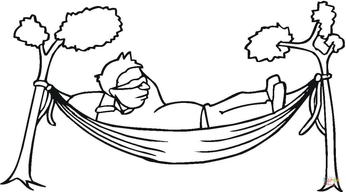 Resting coloring #14, Download drawings