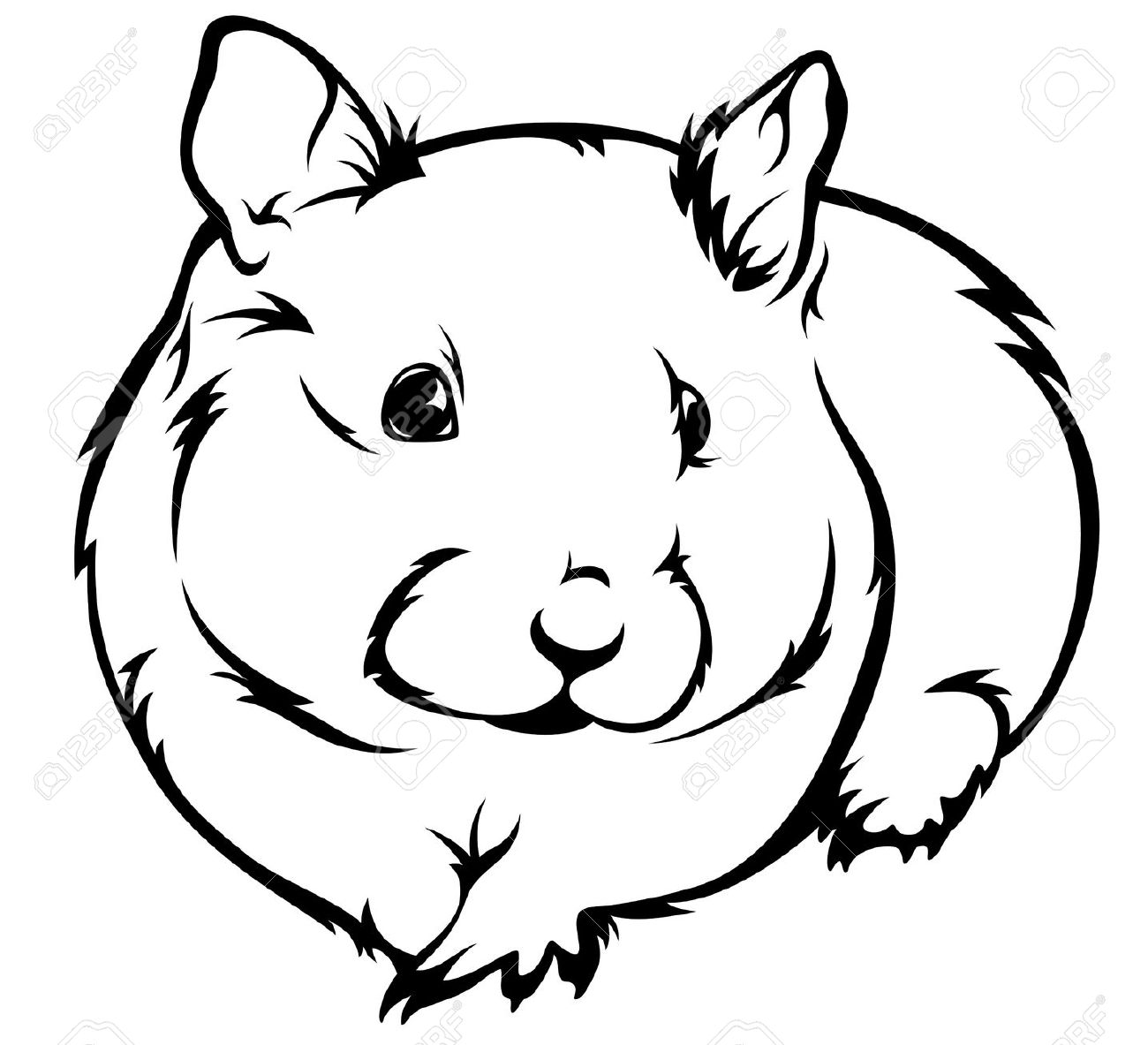 Hamster clipart #4, Download drawings
