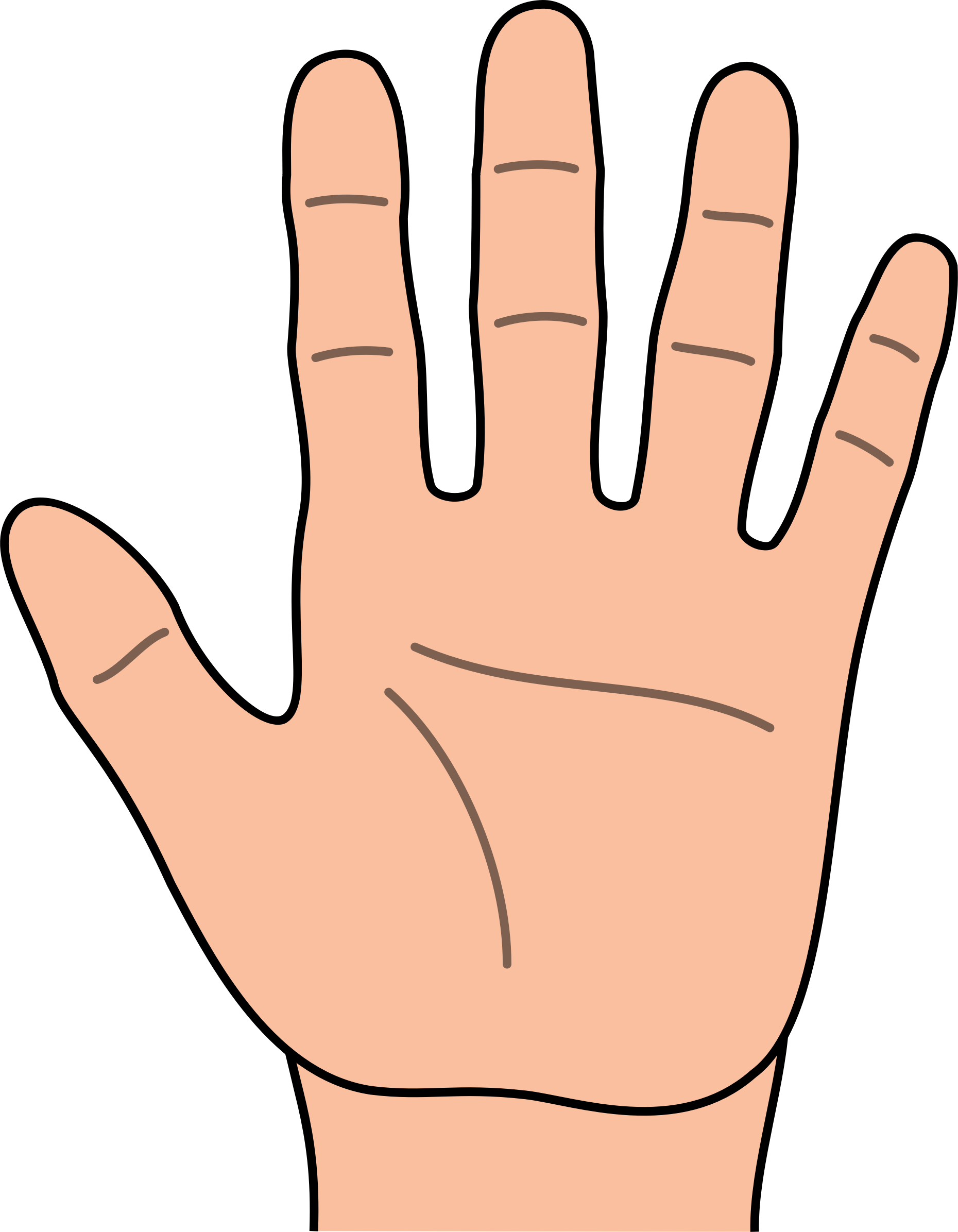 Hand clipart #7, Download drawings
