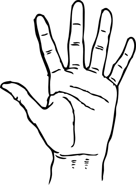 Hand svg #104, Download drawings