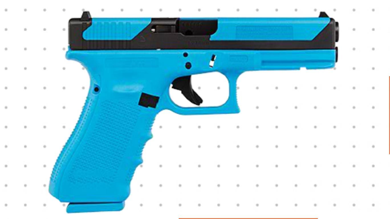 Handgun coloring #12, Download drawings
