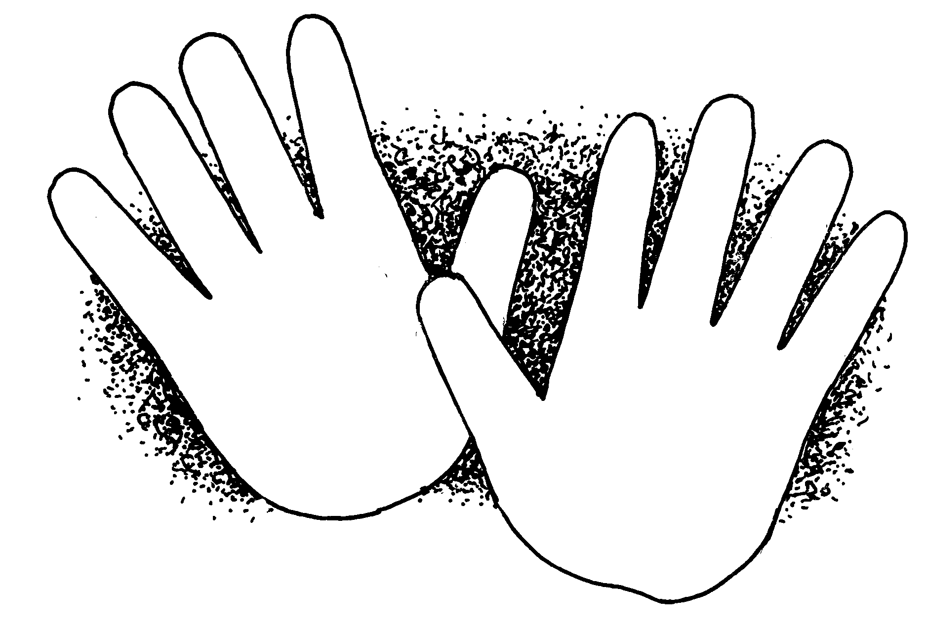 Hands clipart #3, Download drawings