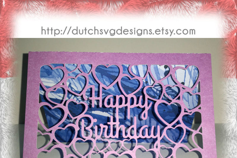 happy birthday card svg free #428, Download drawings