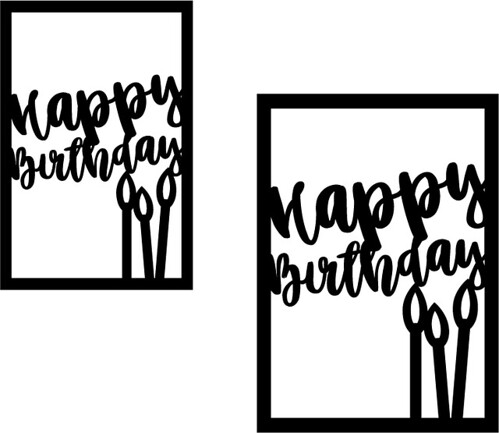 happy birthday card svg free #424, Download drawings