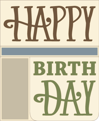 happy birthday card svg free #426, Download drawings