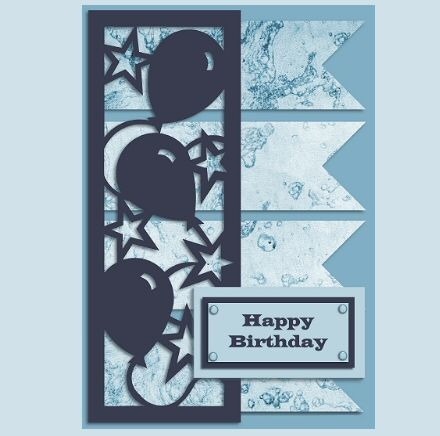 happy birthday card svg free #410, Download drawings
