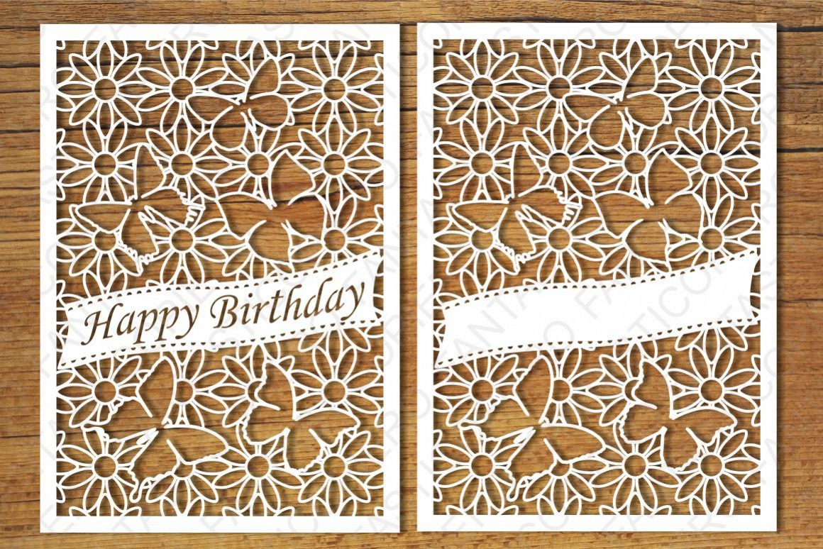 happy birthday card svg free #423, Download drawings