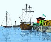 Harbor clipart #20, Download drawings