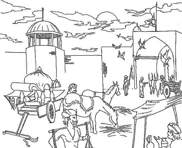 Harbor coloring #15, Download drawings