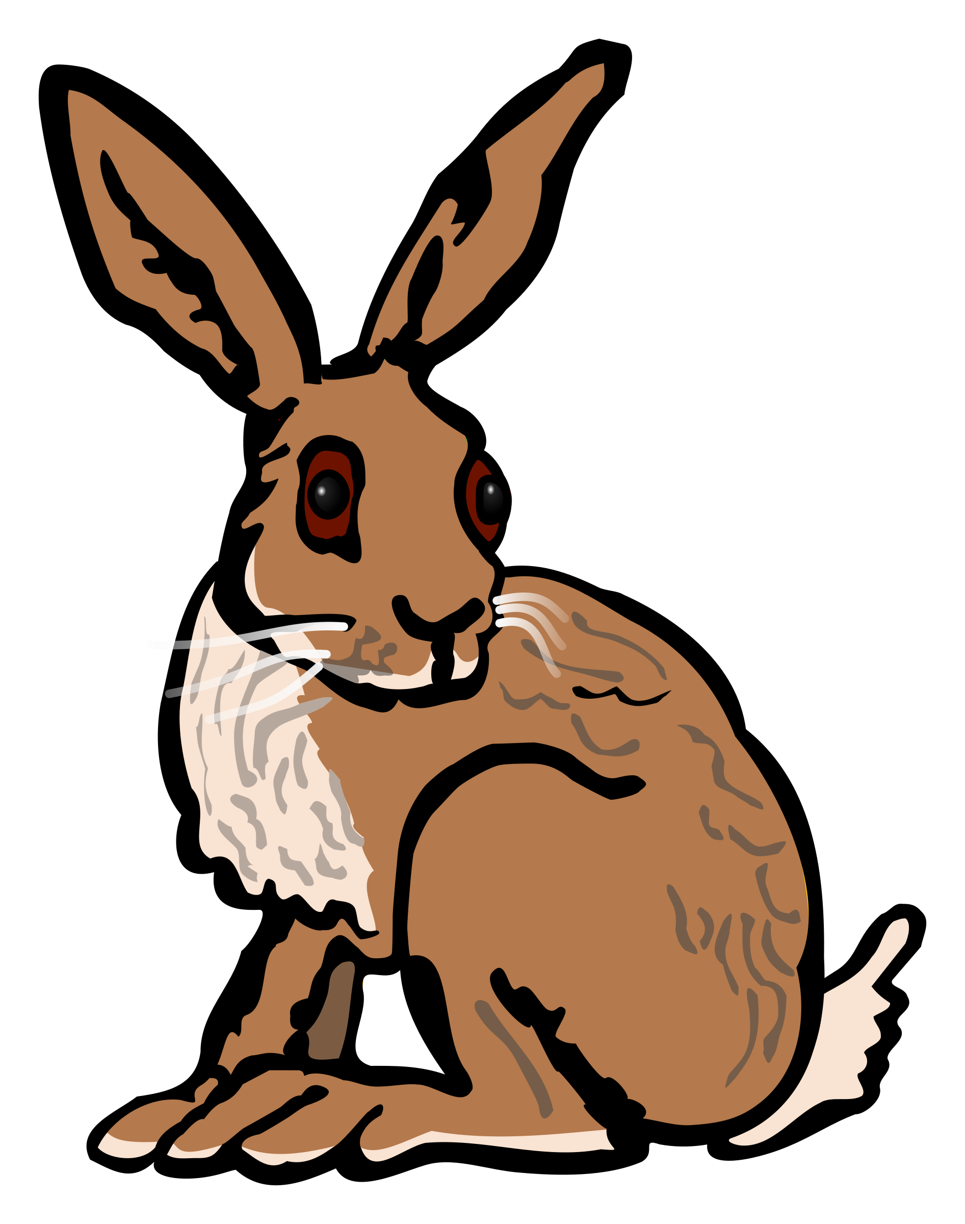 Hare clipart #12, Download drawings