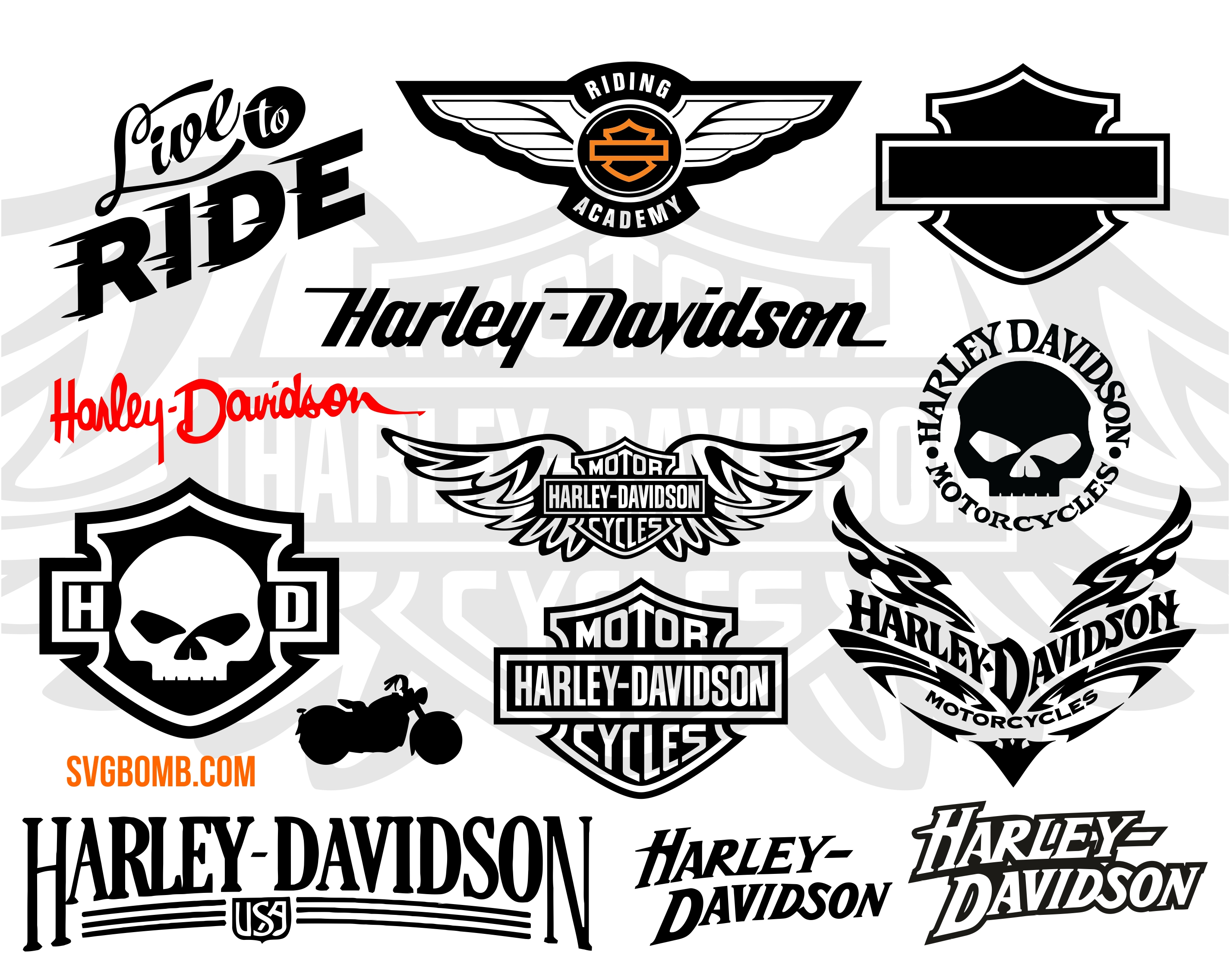 harley svg #608, Download drawings