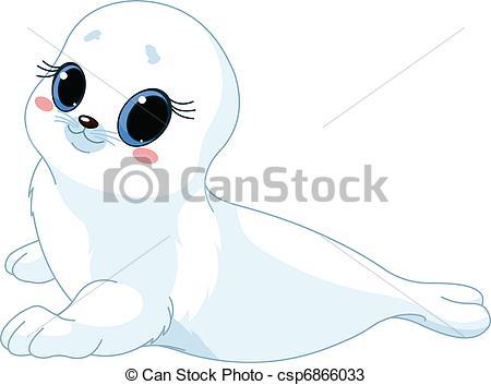 Harp Seal clipart #14, Download drawings
