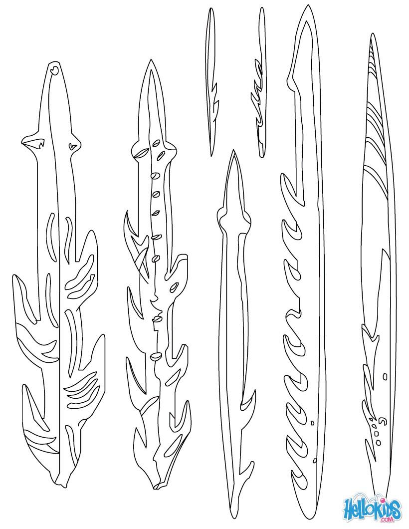Harpoon coloring #12, Download drawings