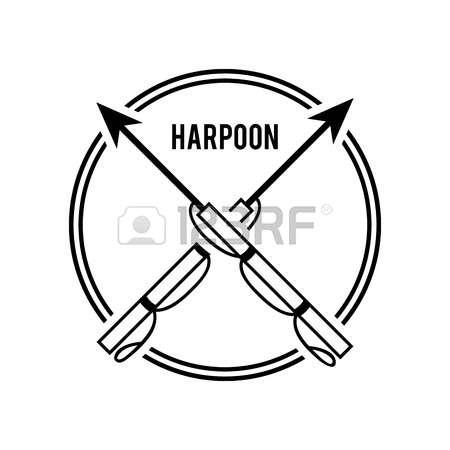 Harpoon coloring #15, Download drawings