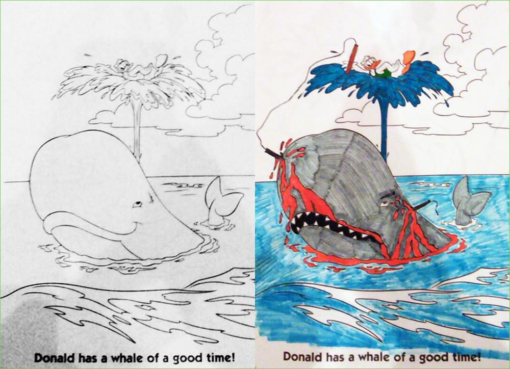 Harpoon coloring #7, Download drawings