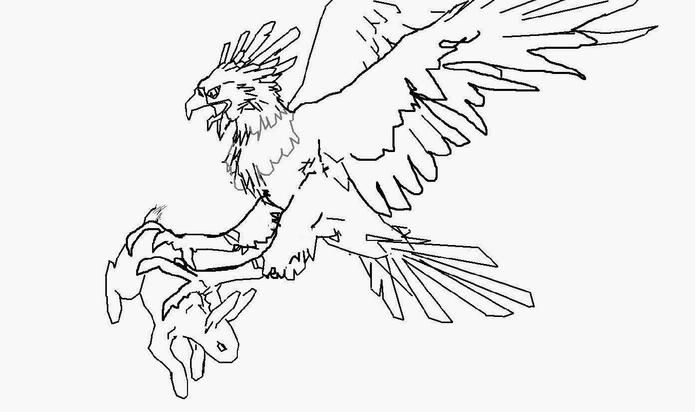 Harpy Eagle coloring, Download Harpy Eagle coloring for ...