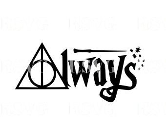 harry potter always svg #792, Download drawings