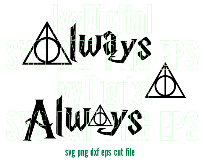 harry potter always svg #781, Download drawings