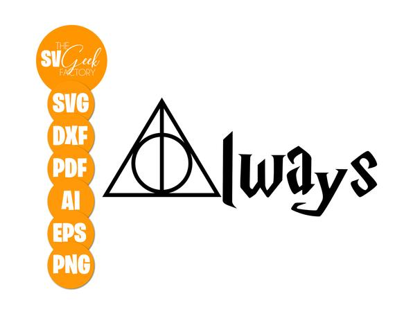 harry potter always svg #791, Download drawings