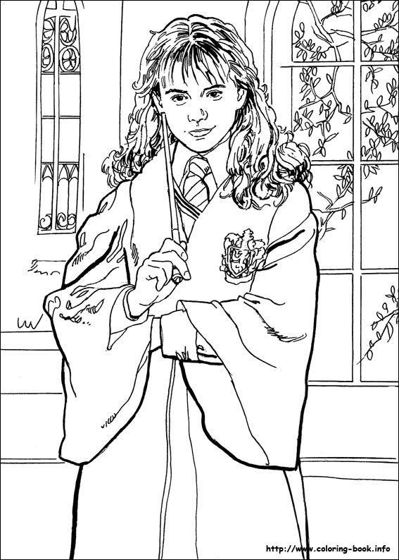 Harry Potter coloring #2, Download drawings
