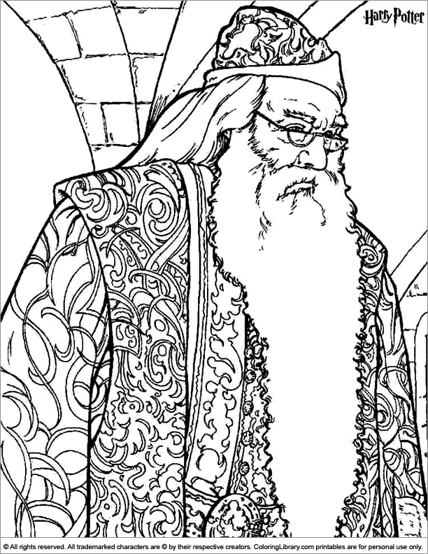 Harry Potter coloring #7, Download drawings