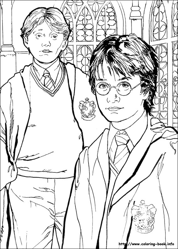 Harry Potter coloring #10, Download drawings