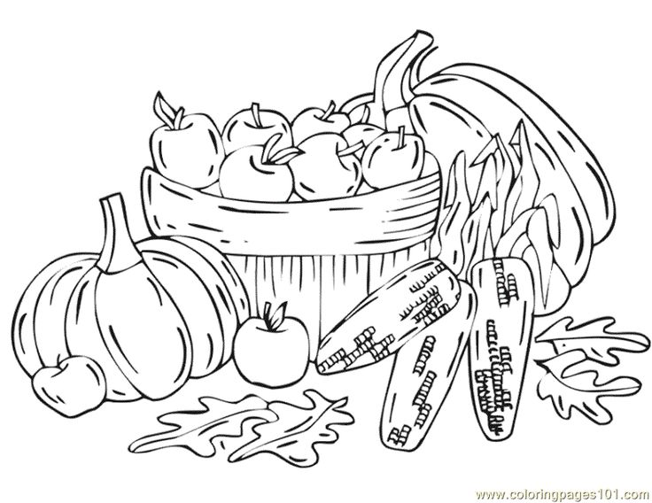 Harvest coloring #10, Download drawings