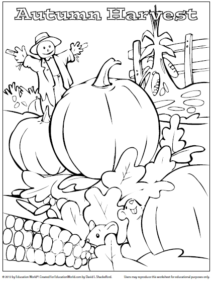 Harvest coloring #11, Download drawings