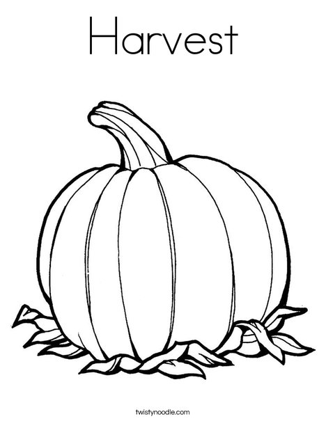 Harvest coloring #2, Download drawings