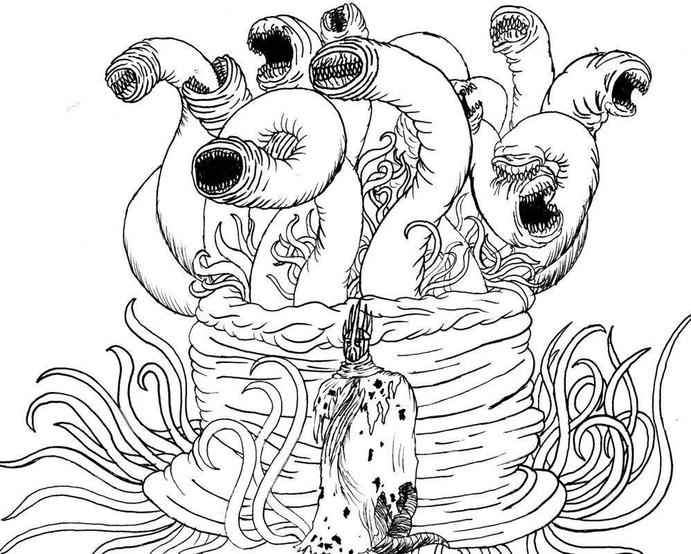Hastur coloring #18, Download drawings