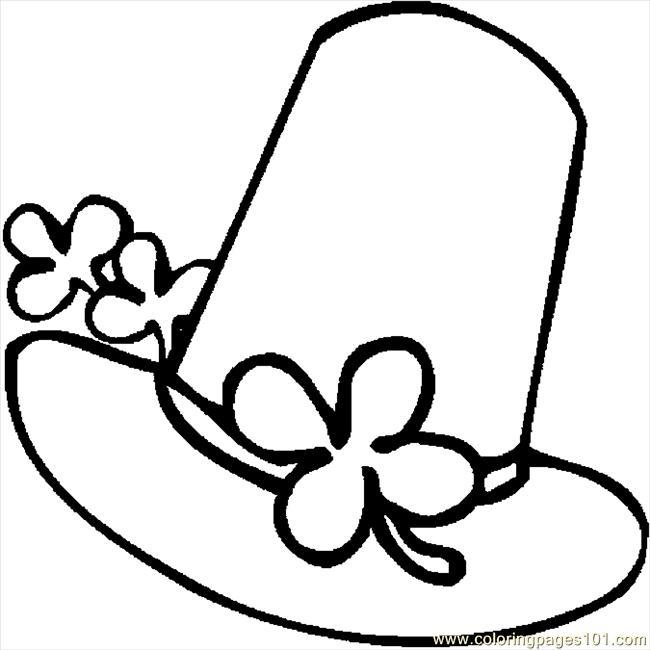 Hat coloring #14, Download drawings