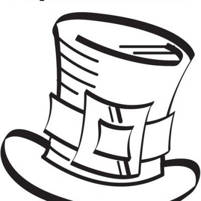 Hat coloring #4, Download drawings
