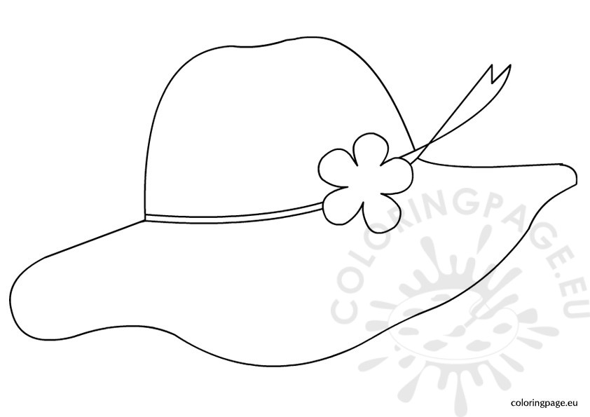Hat coloring #2, Download drawings