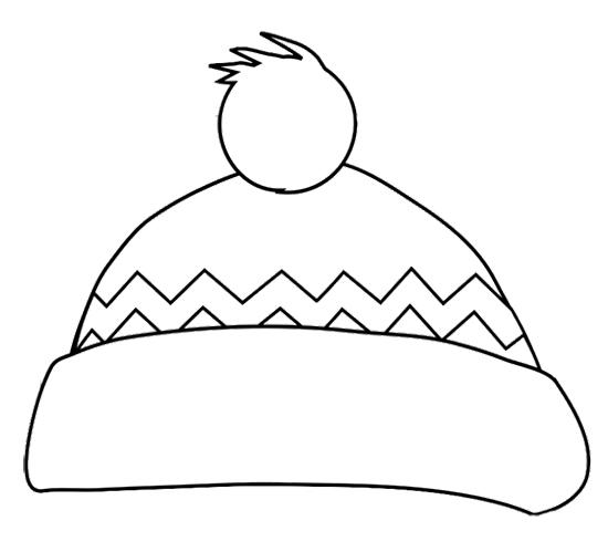 Hat coloring #16, Download drawings