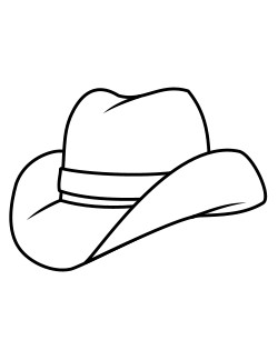 Hat coloring #18, Download drawings
