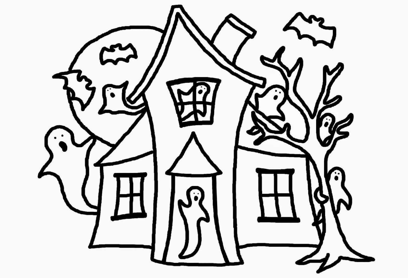 Haunt coloring #17, Download drawings
