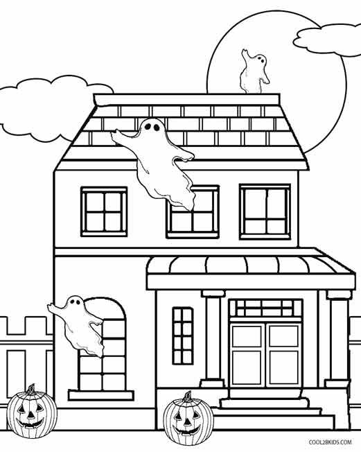 Haunt coloring #11, Download drawings