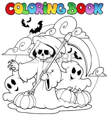 Haunt coloring #2, Download drawings