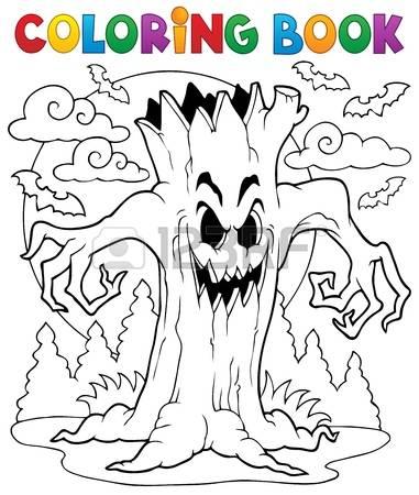 Haunt coloring #7, Download drawings