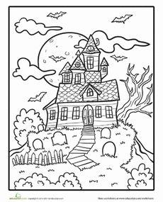 Haunt coloring #3, Download drawings